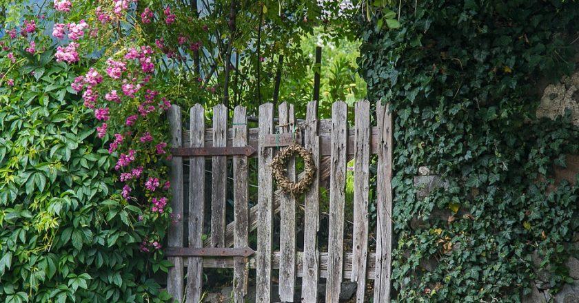 Garten Fechten Panels